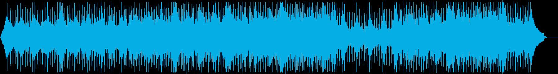 グローバル企業風ピアノ&ギター:メロ無3の再生済みの波形