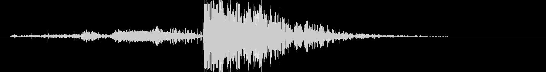 木 ミディアムクラッシュ02の未再生の波形