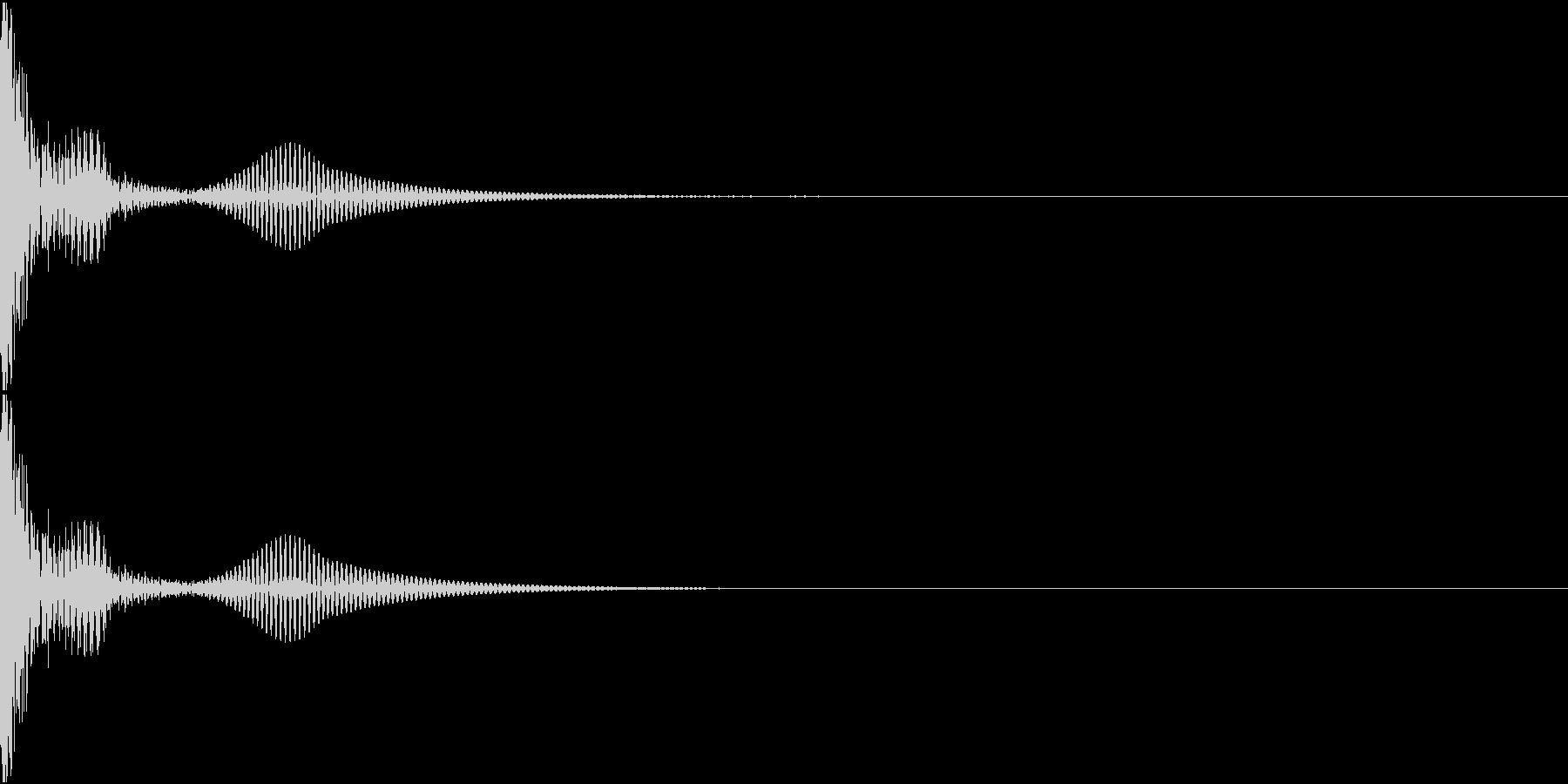 DTM PercFX 2 オリジナル音源の未再生の波形