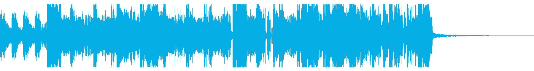 YouTube ダブステップジングル05の再生済みの波形