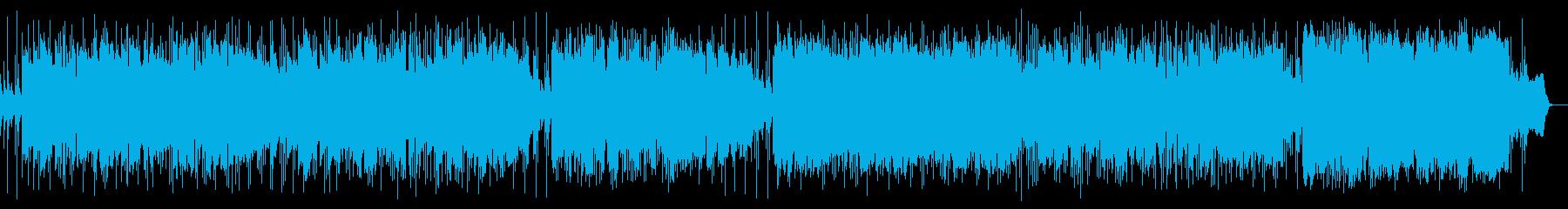 中世ヨーロッパの民族音楽の再生済みの波形