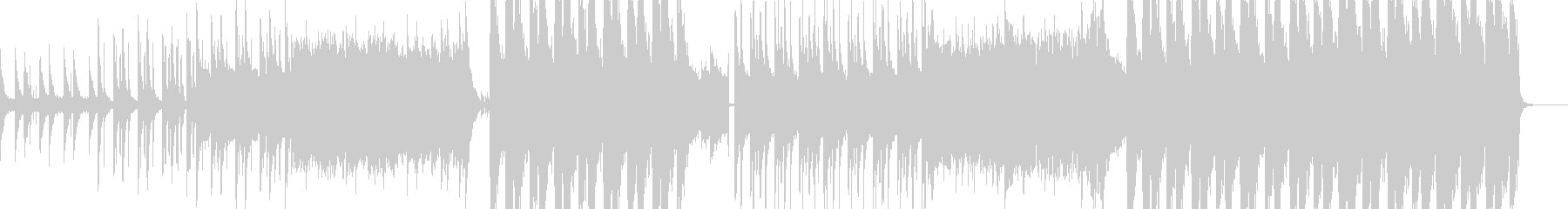 Chainsmokesr風のエモいEDMの未再生の波形