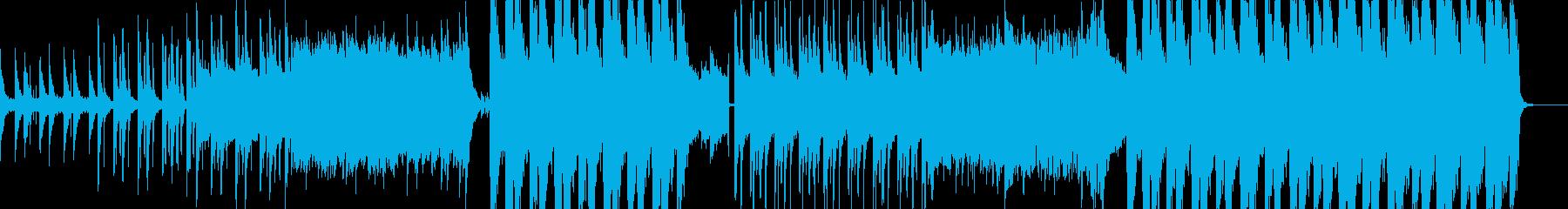 Chainsmokesr風のエモいEDMの再生済みの波形