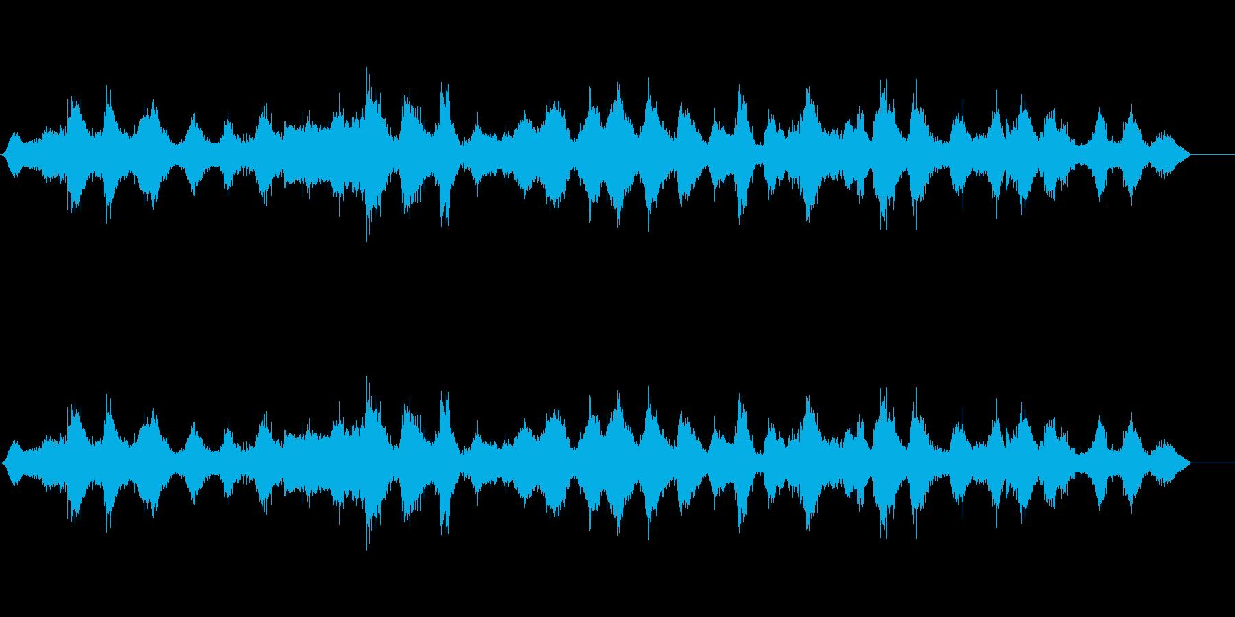 海の波中波の再生済みの波形