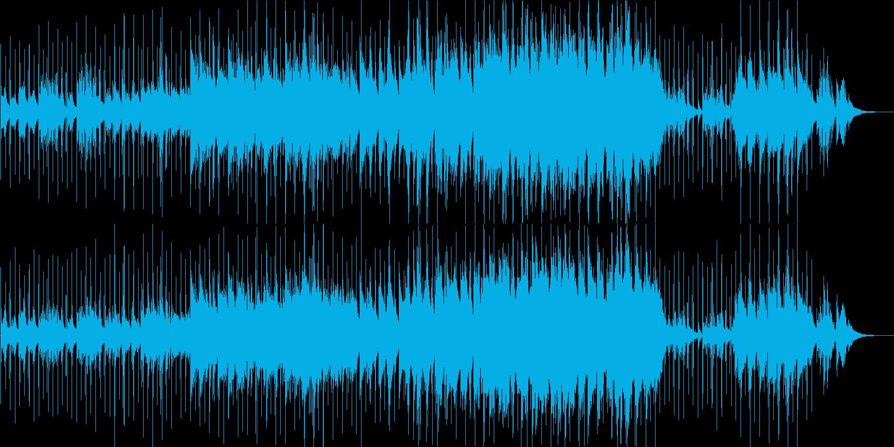 冬・星・雪 ヒーリング系ピアノのBGMの再生済みの波形