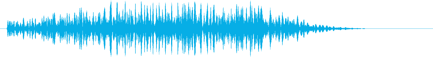グォォッ(モンスター、鳴き声、唸り声)の再生済みの波形