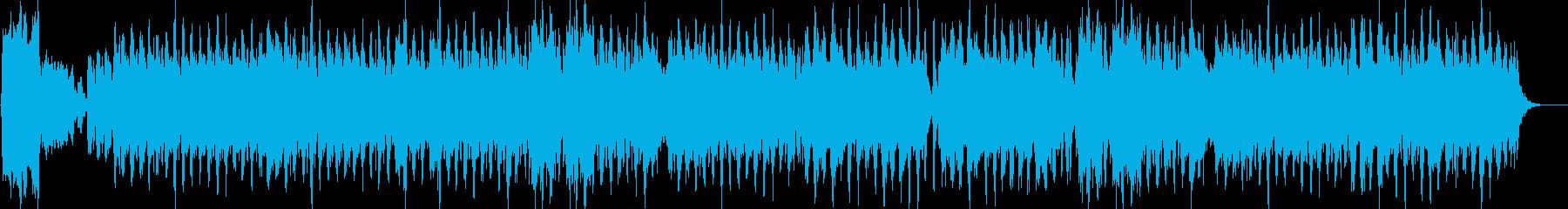 素敵なメロディーの速いペースのオー...の再生済みの波形