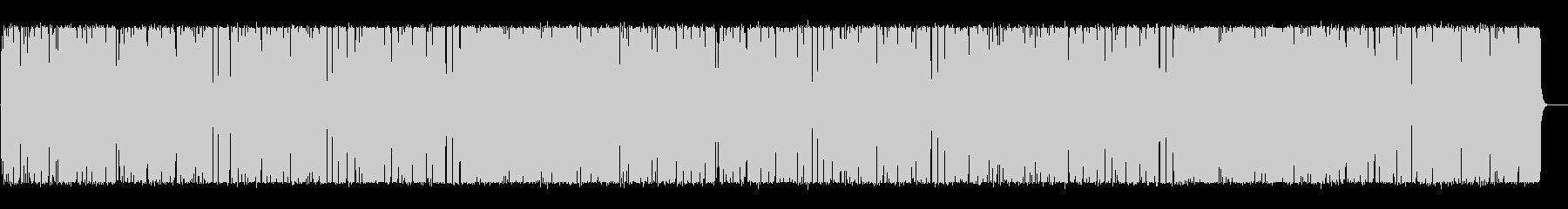 明るくリズミカルなラテン調BGMの未再生の波形