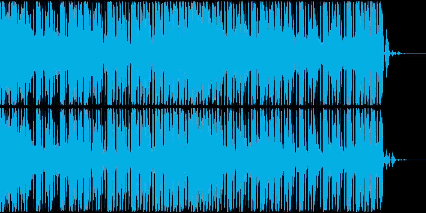 【EDM】トランス、ジングル4の再生済みの波形