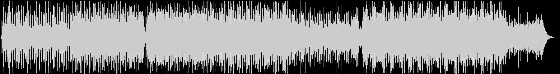 爽やかで優しい音色のトロピカルBGMの未再生の波形