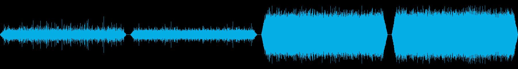 水路、水路、4つのバージョン; D...の再生済みの波形