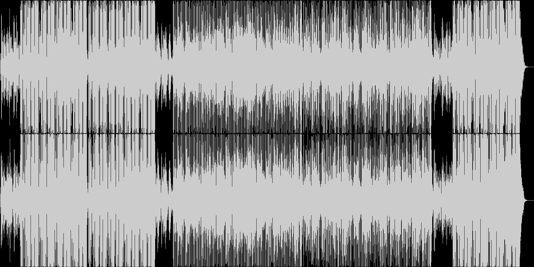 映像用ポップなスムースジャズの未再生の波形