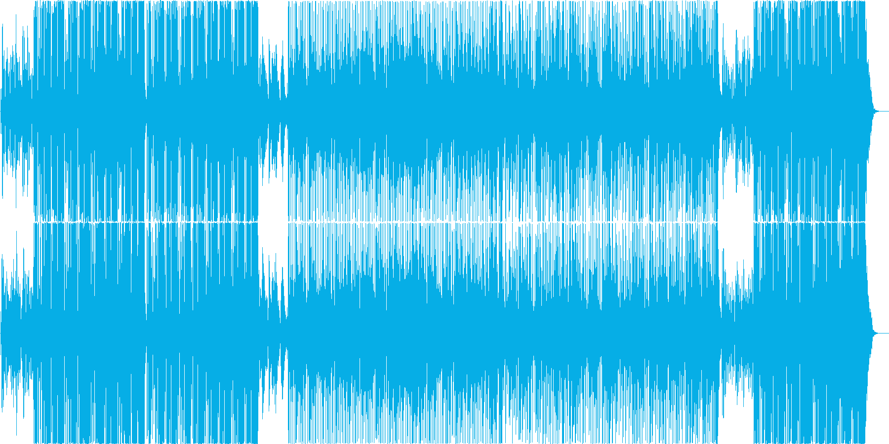 映像用ポップなスムースジャズの再生済みの波形