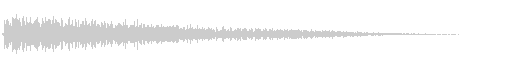 アコースティックギター ジャラーンの未再生の波形