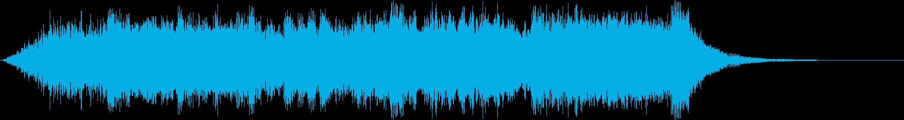 フィールドクリア (豪華なオーケストラ)の再生済みの波形