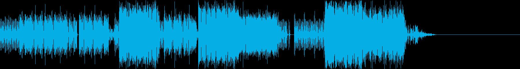 ロック&ファンク。サックスソロ2:39の再生済みの波形