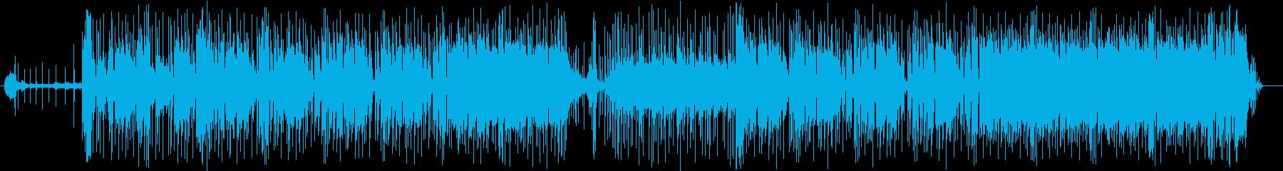 奇妙で不思議な緩やかビートサウンドの再生済みの波形