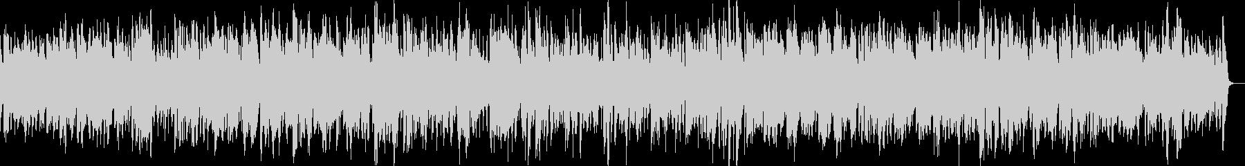 アルトサックスのやさしいバラードの未再生の波形