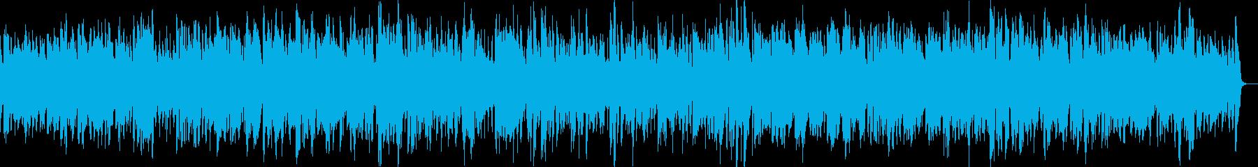 アルトサックスのやさしいバラードの再生済みの波形