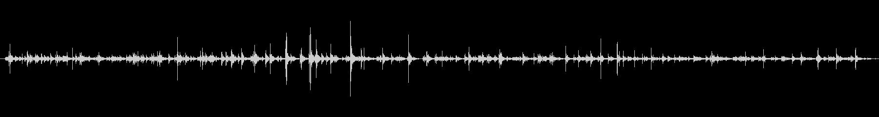 体 群集チェストヒット01の未再生の波形