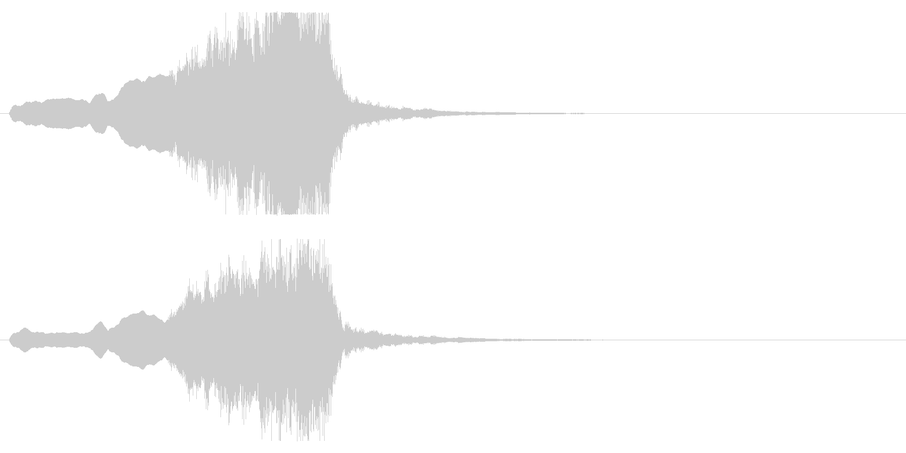 音楽、ベインステム、フレンチホルン...の未再生の波形