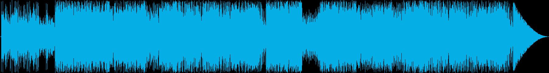 ロック(洋館・ゴシック・推理)の再生済みの波形