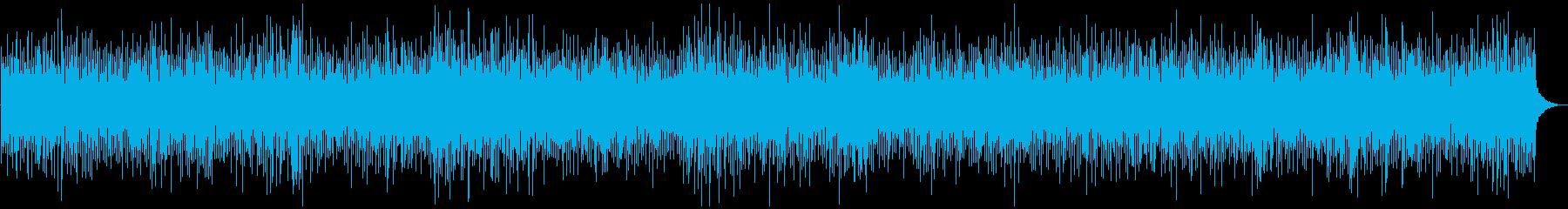 陽気なアコーディオン、ブルーグラスの再生済みの波形