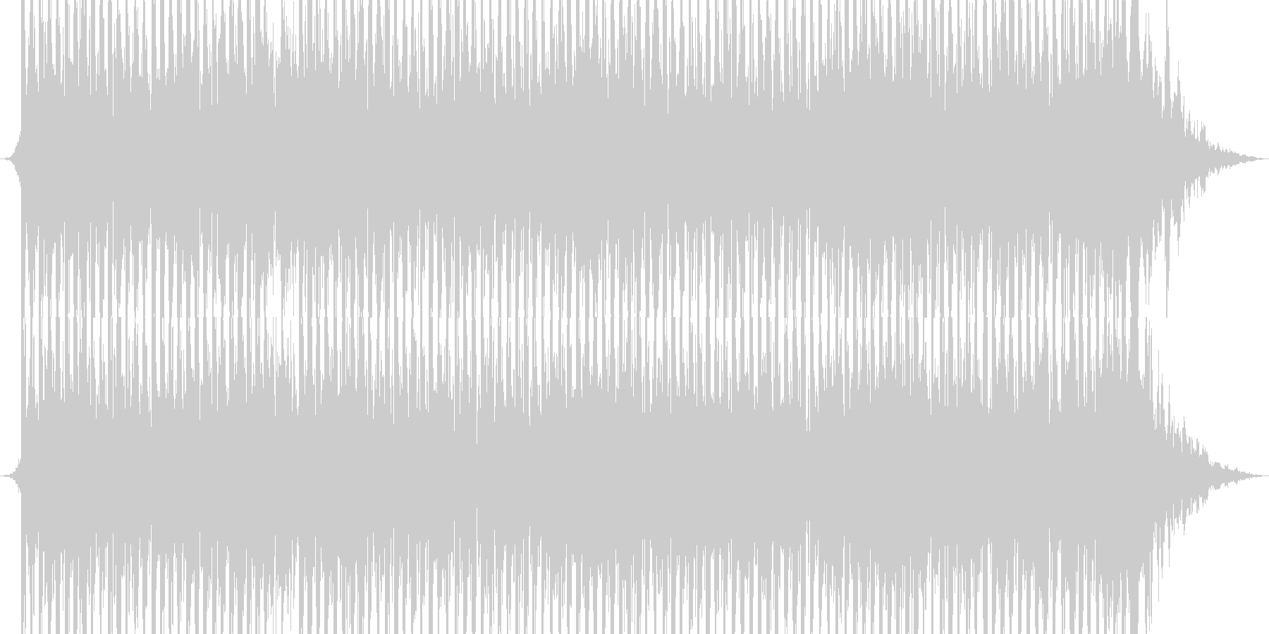 No main sound / Fighting spirit x Sexy EDM_ Flashy's unreproduced waveform