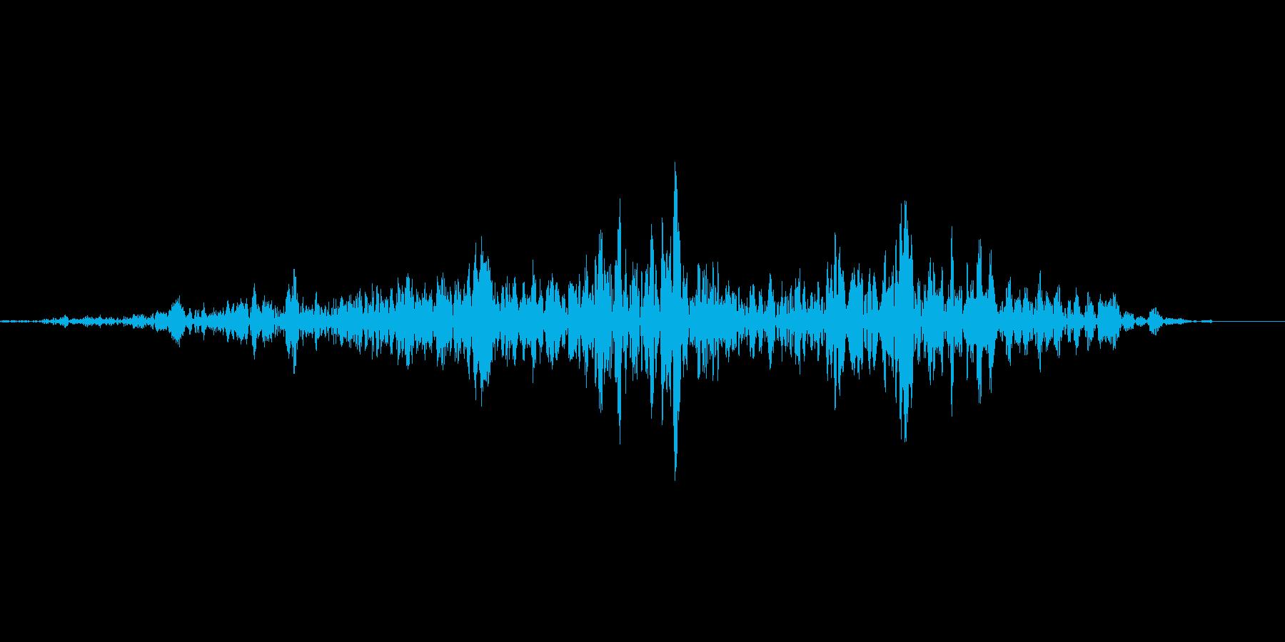 舌なめずり(お腹が空いた時などの再生済みの波形