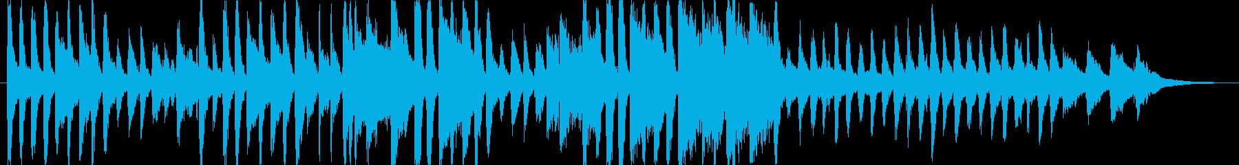ジングル - ニコニコスマイルの再生済みの波形