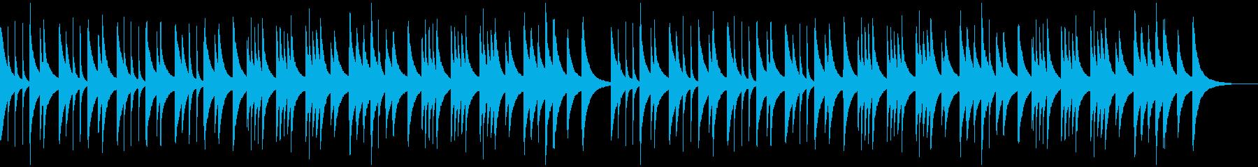 定番Xmasキャロルのオルゴールアレンジの再生済みの波形