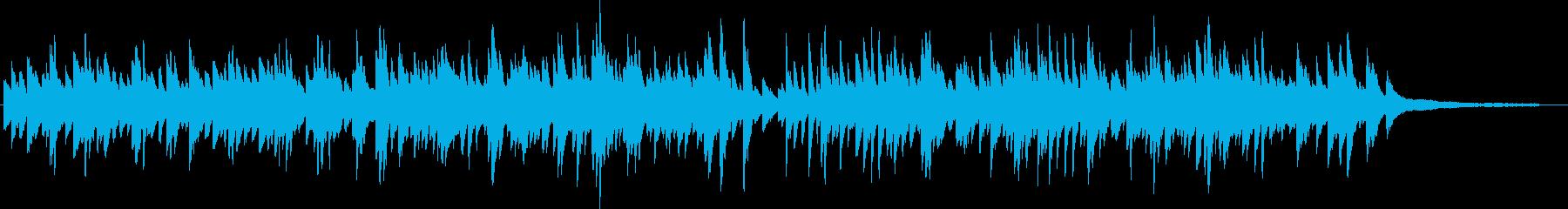 優しい 明るめの ピアノソロ 3拍子の再生済みの波形