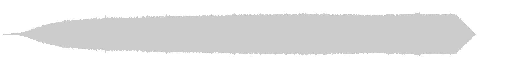 静的;無線の静的フェードインおよび...の未再生の波形