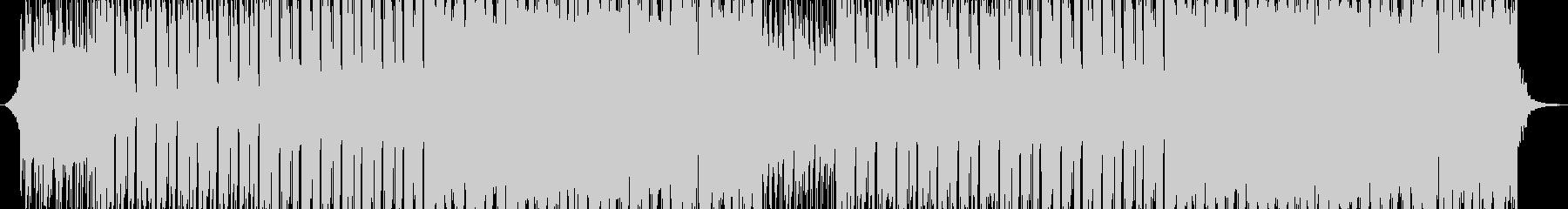 明るく軽快なポップロックの未再生の波形