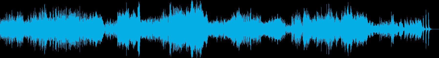 ドビュッシーの人気曲、パスピエです。の再生済みの波形