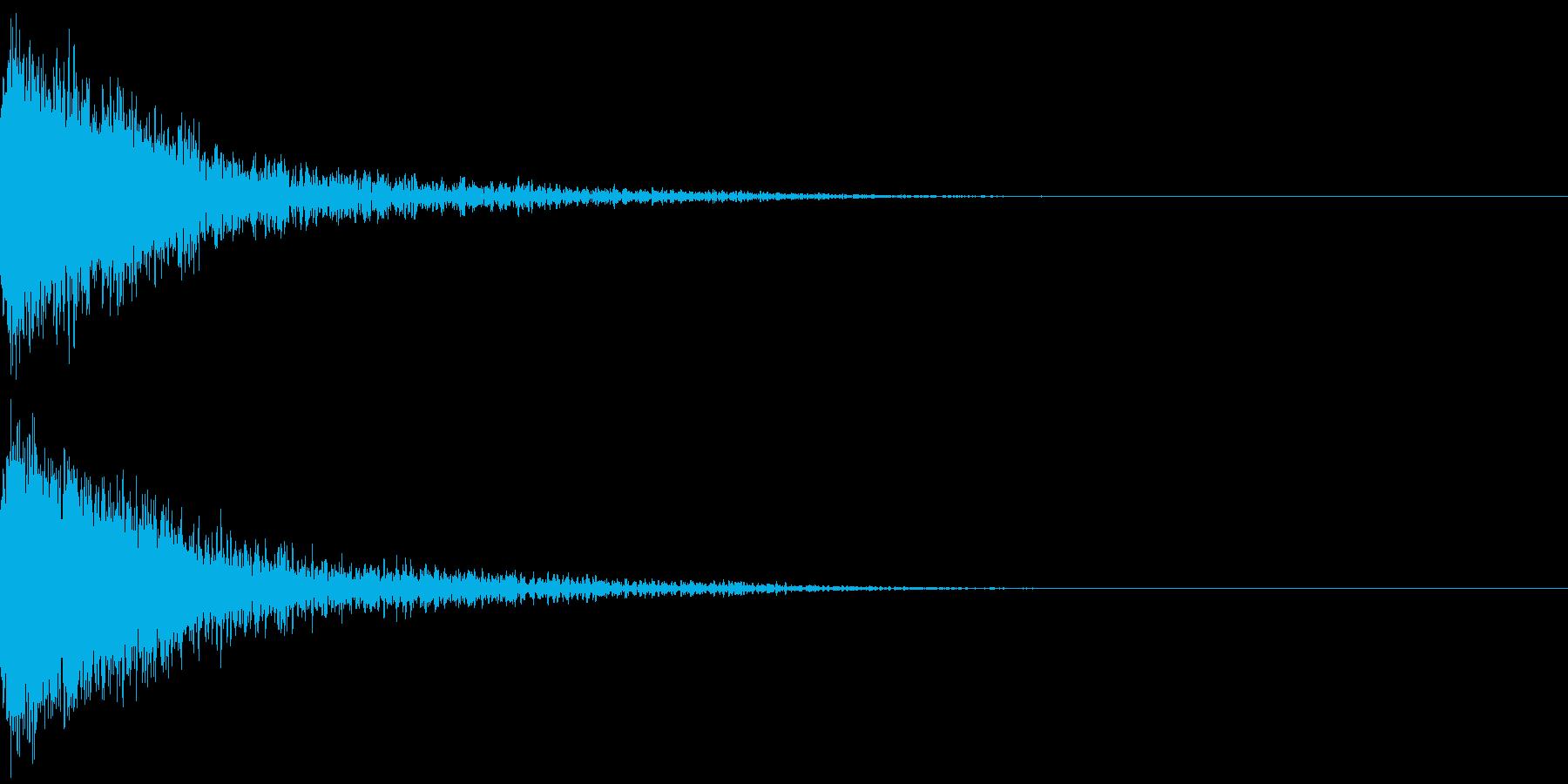 恐竜 怪獣 吠える 衝撃 ホラー 10の再生済みの波形