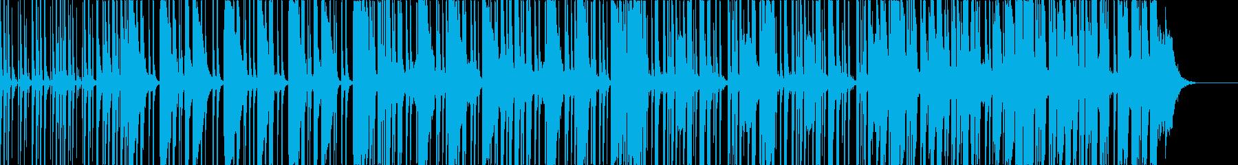 HipHop ラップバトルフリースタイルの再生済みの波形