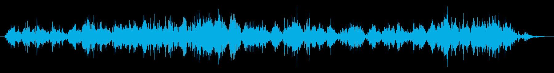 ロマンチックでクラシカルなピアノ曲の再生済みの波形