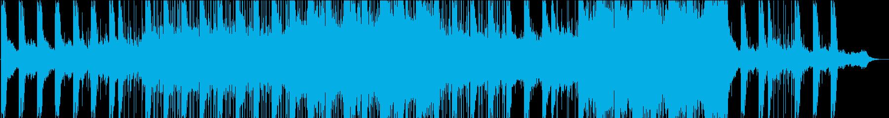 柔らかくスローに揺れるアンビエントの再生済みの波形