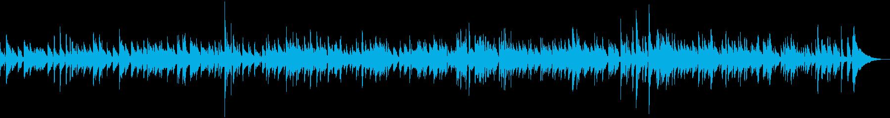 生ギター ゆっくりめカントリー風ブルースの再生済みの波形