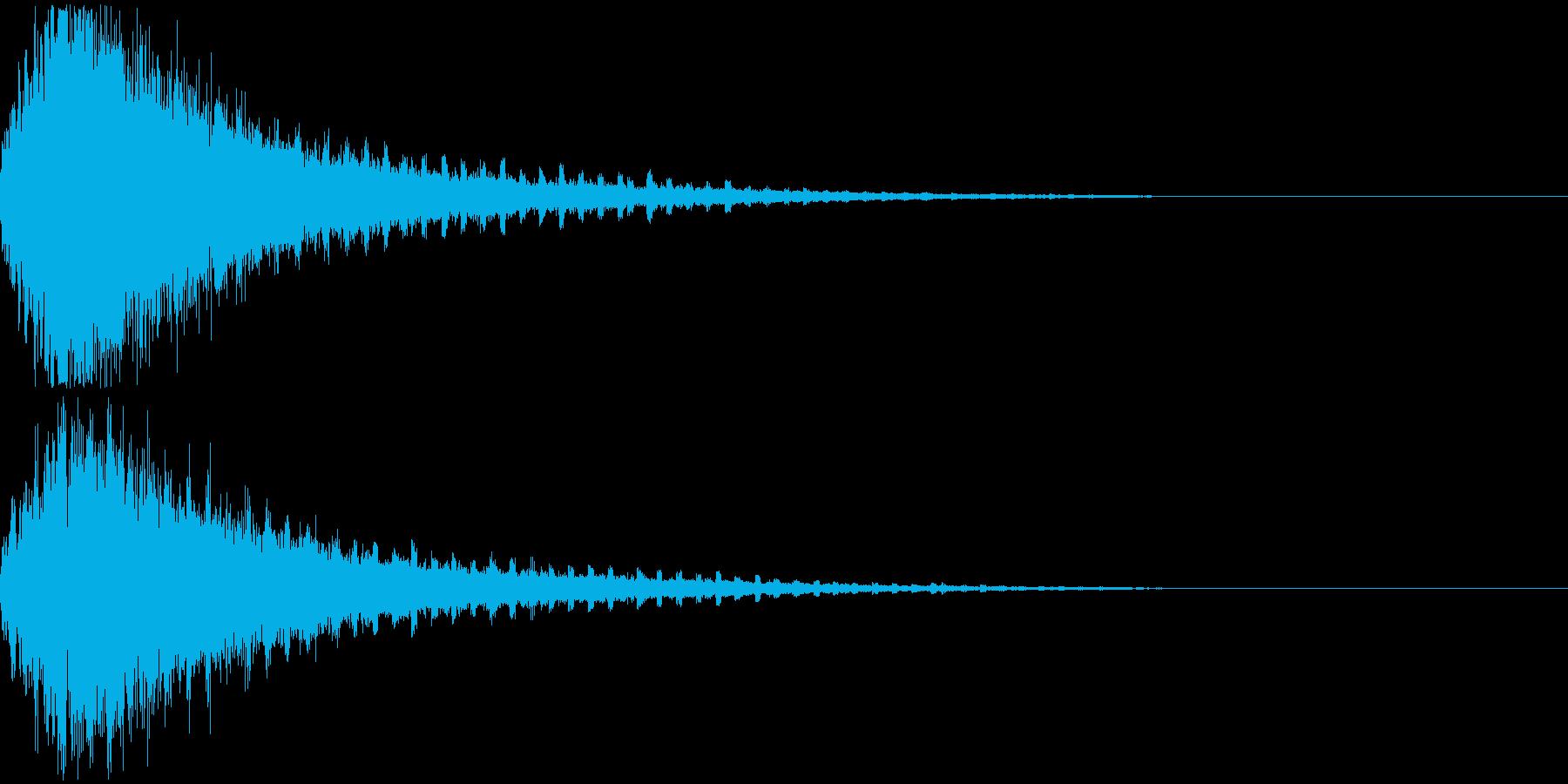 技・必殺技・魔法・シュワーンの再生済みの波形