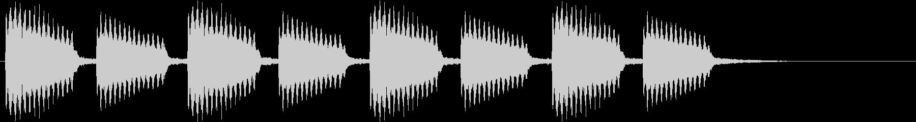 古い印象のギター音#01の未再生の波形
