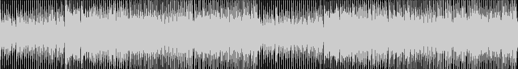 和風ダンスEDMなインストBGMの未再生の波形