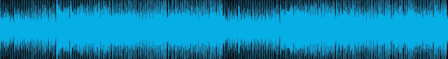 和風ダンスEDMなインストBGMの再生済みの波形