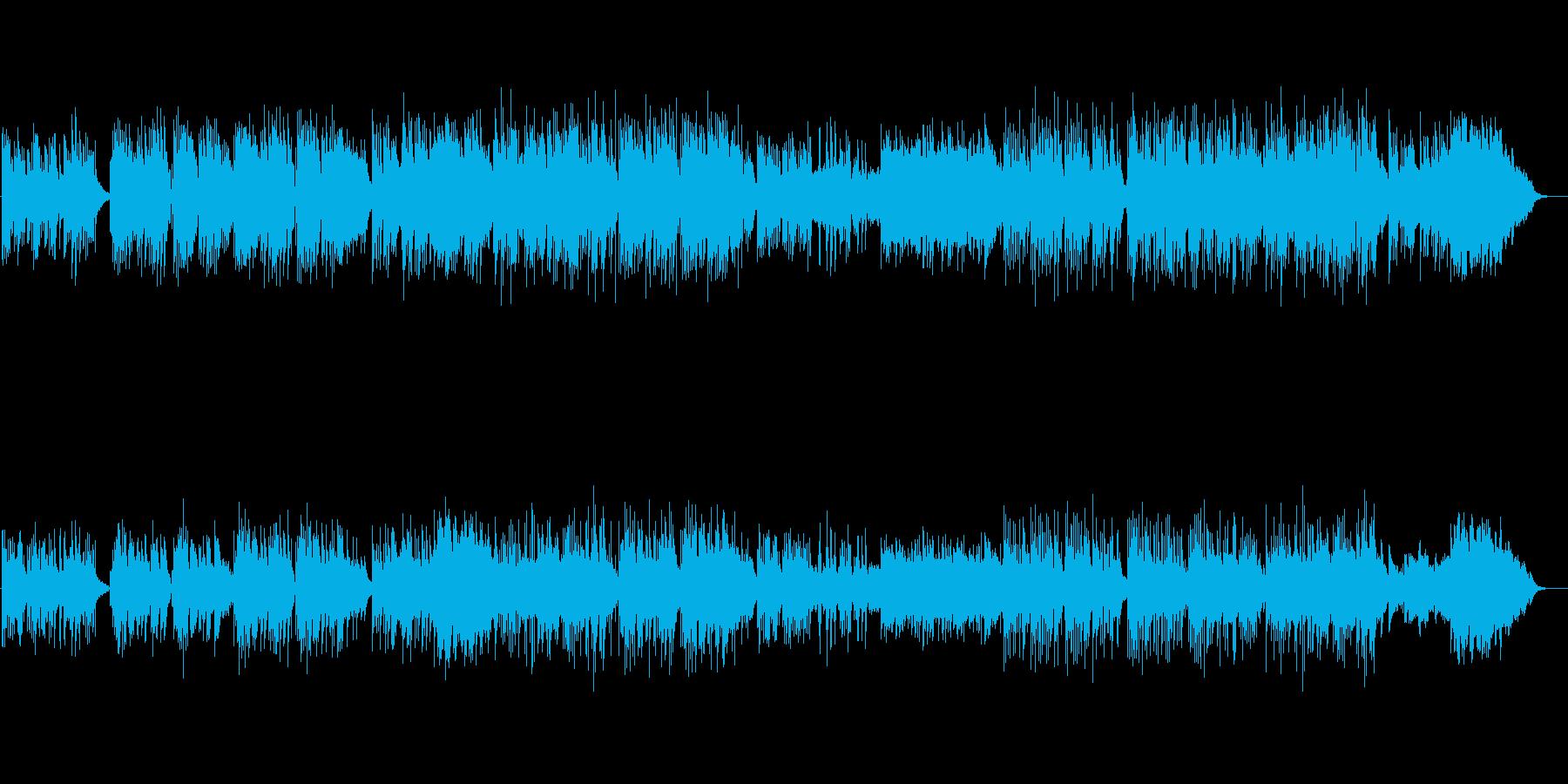 オリエンタル系イージーリスニングの再生済みの波形