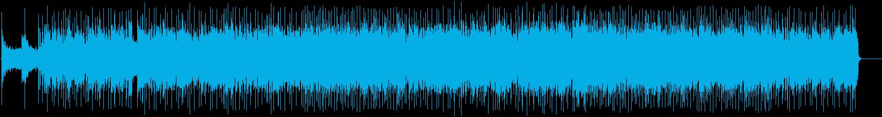 男のタフなアメリカン・ブルース/ロックの再生済みの波形