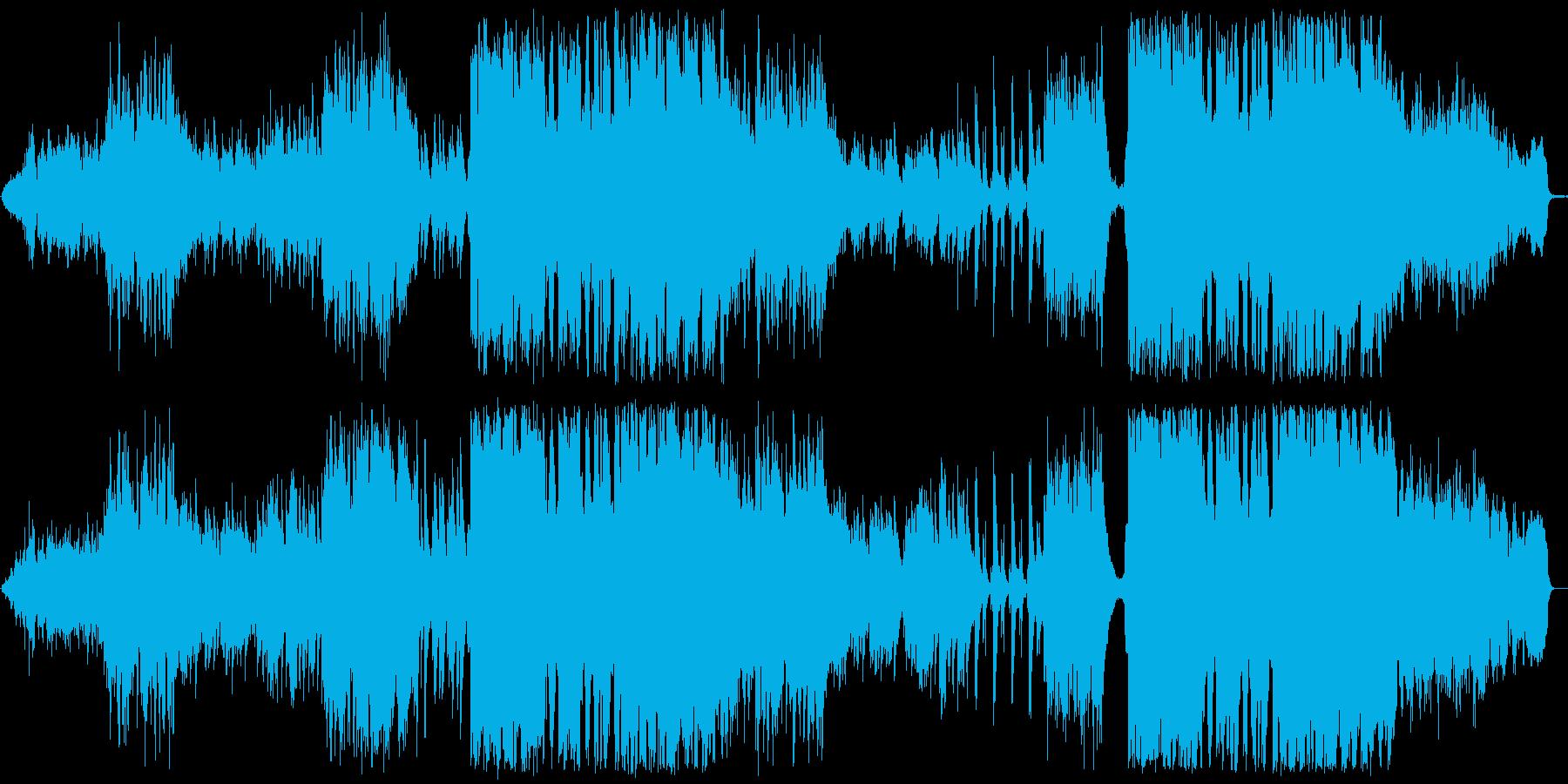 爽やかなラウンジ系イージーリスニングの再生済みの波形