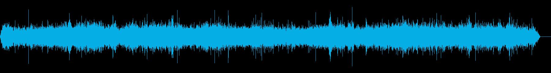 野菜市場、声の再生済みの波形