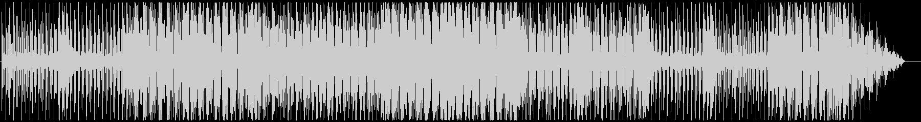 【Loop】ノリのいいメタル調のBGMの未再生の波形