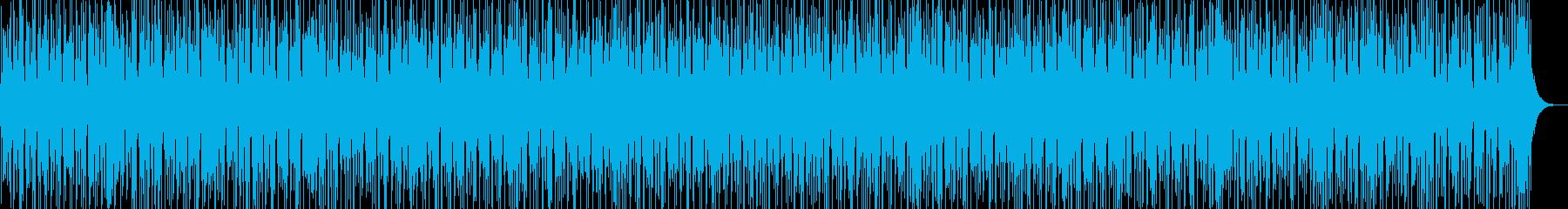 SonAfro リズムとギターの再生済みの波形
